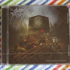 CDs de Música: CATTLE DECAPITATION - THE HARVEST FLOOR CD NUEVO Y PRECINTADO - DEATH METAL GRINDCORE. Lote 194233061
