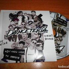 CDs de Música: MISS CAFFEINA VARRY BRAVA DANCETERIA AQUI NADIE SABE TU NOMBRE CD SINGLE PROMO CARTON 2019 1 TEMA. Lote 248615650