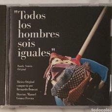 CDs de Música: CD BSO TODOS LOS HOMBRES SOIS IGUALES.BANDA SONORA. Lote 194234401