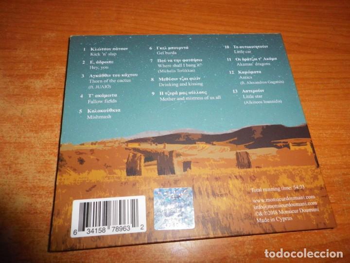 CDs de Música: MONSIEUR DOUMANI Angathin CD ALBUM DIGIPACK DEL AÑO 2018 CHIPRE CONTIENE 13 TEMAS MUY RARO - Foto 3 - 194238093