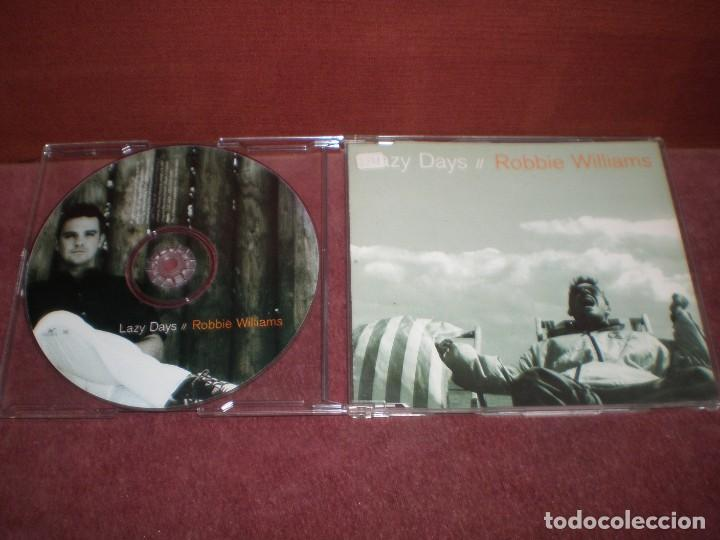 CD SINGLE PROMO ROBBIE WILLIAMS / LAZY DAYS (Música - CD's Rock)