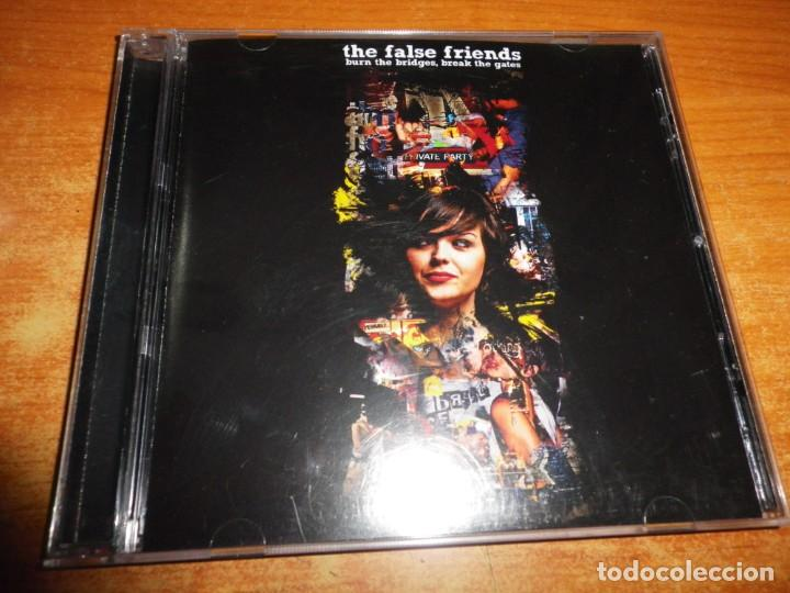 THE FALSE FRIENDS BURN THE BRIDGES, BREAK THE GATES CD ALBUM AÑO 2007 INDIE POP JAVI BARRIENTOS RARO (Música - CD's Rock)