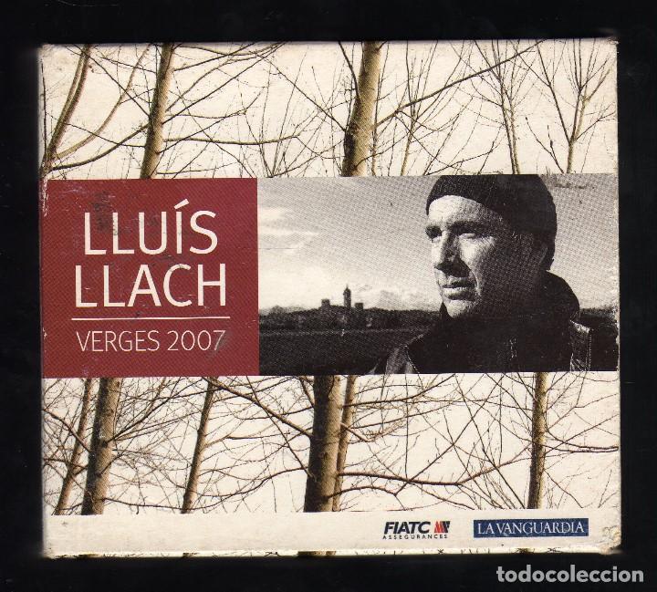 ESTUCHE CON 3 CD'S Y LIBRETO: LLUÍS LLACH (VERGES 2007) · CLAUS RECORDS, 2007 - PESO: 327 GRAMOS - (Música - CD's Otros Estilos)
