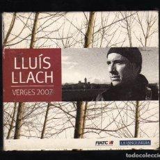 CDs de Música: ESTUCHE CON 3 CD'S Y LIBRETO: LLUÍS LLACH (VERGES 2007) · CLAUS RECORDS, 2007 - PESO: 327 GRAMOS -. Lote 194238918