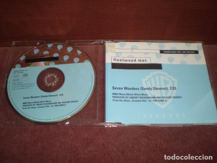 CD SINGLE PROMO FLEETWOOD MAC / SEVEN WONDERS (Música - CD's Rock)