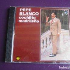 CDs de Música: PEPE BLANCO CD DIAL 1989 - COCIDITO MADRILEÑO - 12 EXITOS CANCION ESPAÑOLA POP - SIN USO. Lote 194243385