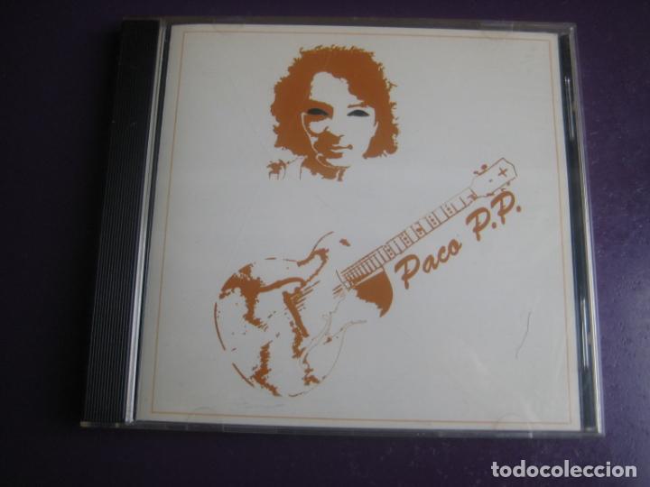 PACO P.P. CD AUTOEDITADO 1995 - COUNTRY ROCK BLUES - SIN USO (Música - CD's Rock)