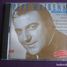 CDs de Música: PEPE MAIRENA DOBLE CD GARDENIA 2001 - 30 EXITOS 1955 - 1967 - FLAMENCO - CDS SIN USO. Lote 194247303