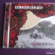 CDs de Música: ALJARAFE CD FONOGRAFICA DEL SUR 2008 - DE MIL COLORES - SEVILLANAS RUMBAS - CD SIN USO. Lote 194247421