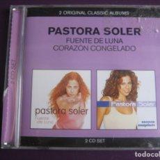 CDs de Música: PASTORA SOLER DOBLE CD EMI 2011 - FUENTE LUNA + CORAZON CONGELADO - NUEVA CANCION ESPAÑOLA COPLA POP. Lote 194247806