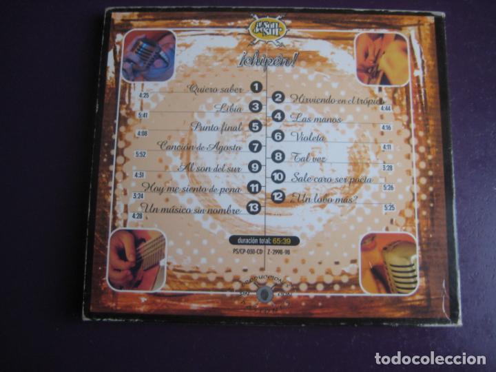 CDs de Música: CHIPEN CD PRODUCCIONES 1998 - AL SON DEL SUR - LIGERAS SEÑALES DE USO - Foto 2 - 194248072