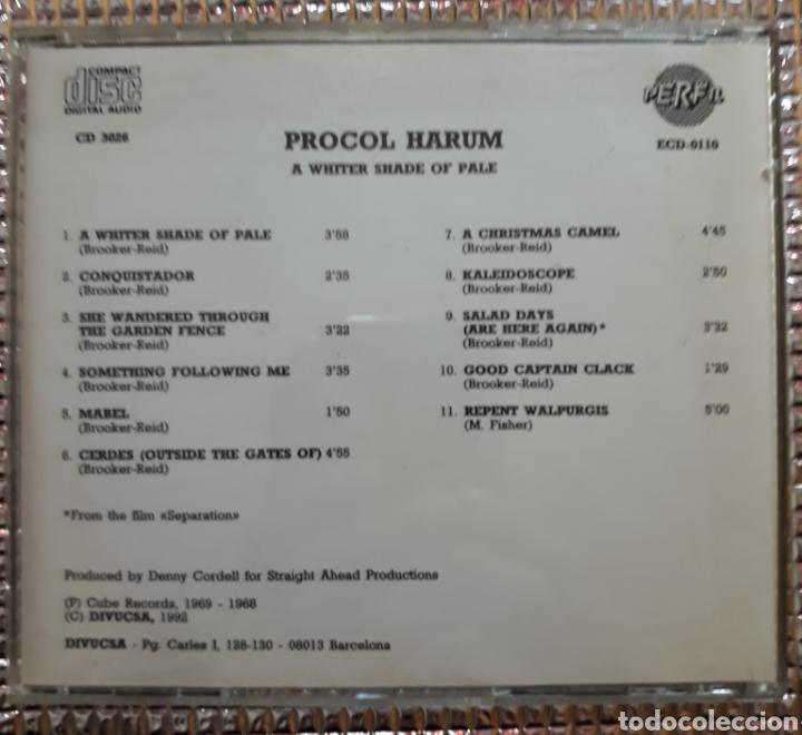 CDs de Música: PROCOL HARUM : A WHITER SHADE OF PALE - Foto 3 - 194249992