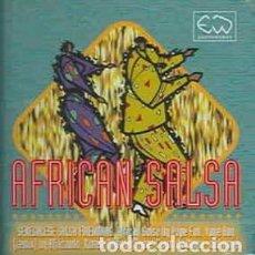 CDs de Música: VARIOUS - AFRICAN SALSA (CD, COMP) LABEL:EARTHWORKS CAT#: STEW41CD . Lote 194261611