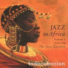 CDs de Música: VARIOUS FEATURING THE JAZZ EPISTLES - JAZZ IN AFRICA - VOLUME ONE (CD, COMP) LABEL:BMG CAT#: CDN 10. Lote 194261706