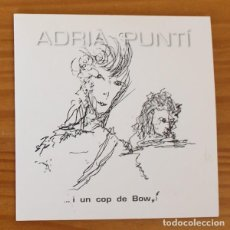 CDs de Música: ADRIA PUNTI -CD MAXI- I UN COP DE BOWI. DAVID BOWIE. Lote 194262177