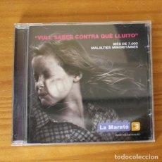 CDs de Música: EL DISC DE LA MARATO 9 -CD- OBK, JOSE MERCE, SIREX, MUSTANG, LUCRECIA, MARINA ROSELL.... Lote 194262286