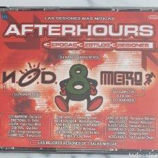 CDs de Música: 3 CD. DISCOTECA 8/METRO/NOD (AFTERHOURS)DJ NANDO DIXKONTROL,KIKE JAEN. MAKINA, DANCE,TECNO, HOUSE. Lote 194272122