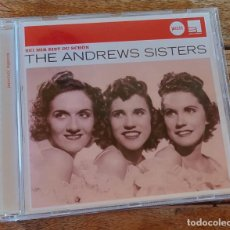 CDs de Música: THE ANDREW SISTERS - BEI MIR BIST DU SCHÖN. Lote 194278205