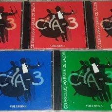 CDs de Música: CHA 3 BAILES DE SALON. Lote 194278226