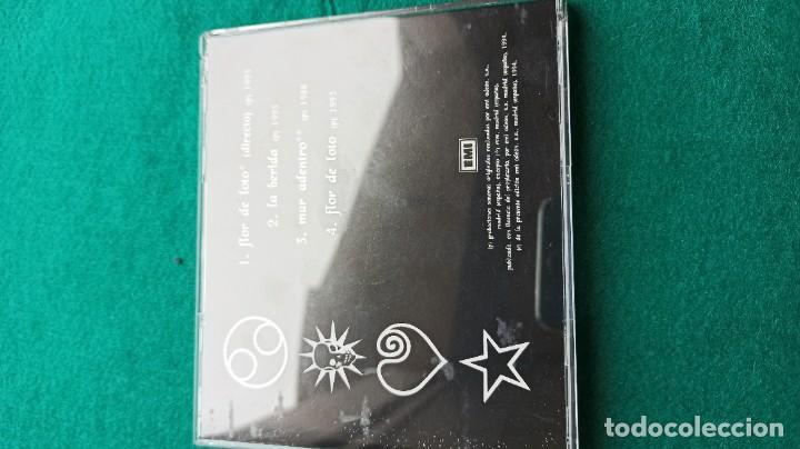 CDs de Música: CD HEROES DEL SILENCIO 4 Temas FLOR DE LOTO 1994 ENVIO GRATIS CERTIFICADO - Foto 10 - 194287821