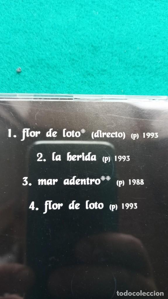 CDs de Música: CD HEROES DEL SILENCIO 4 Temas FLOR DE LOTO 1994 ENVIO GRATIS CERTIFICADO - Foto 12 - 194287821