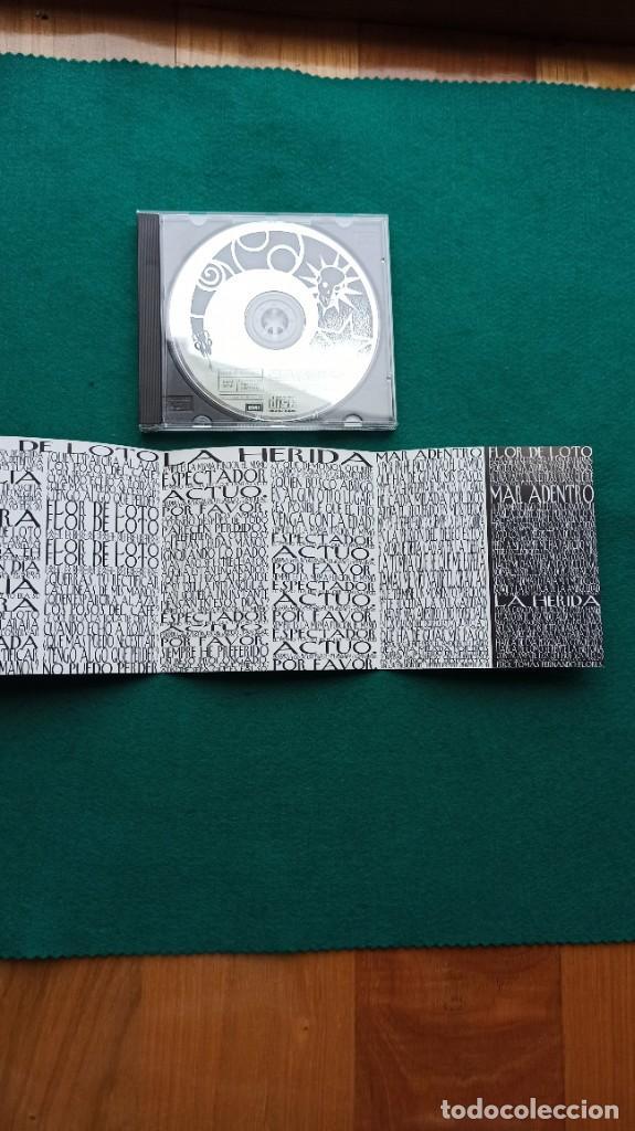 CDs de Música: CD HEROES DEL SILENCIO 4 Temas FLOR DE LOTO 1994 ENVIO GRATIS CERTIFICADO - Foto 14 - 194287821