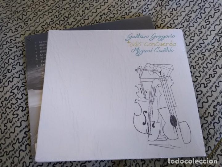 MIGUEL CANTILO Y GUSTAVO GREGORIO CD TODO CONCUERDA (Música - CD's Rock)