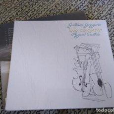 CDs de Música: MIGUEL CANTILO Y GUSTAVO GREGORIO CD TODO CONCUERDA. Lote 194288117
