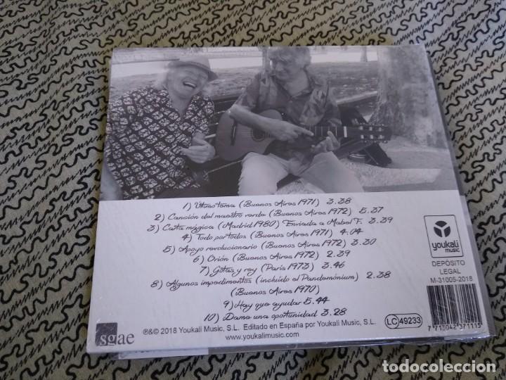 CDs de Música: MIGUEL CANTILO Y GUSTAVO GREGORIO CD TODO CONCUERDA - Foto 2 - 194288117