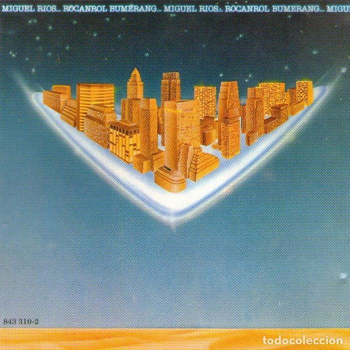 MIGUEL RÍOS - ROCANROL BUMERANG - CD ALBUM - 9 TRACKS - POLYGRAM IBÉRICA 1980 (Música - CD's Rock)