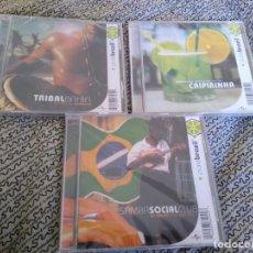 CDs de Música: PURE BRAZIL LOTE 3 CDS -ARTISTAS VARIOS CAETANO VELOSO -IVETTE SANGALO - MILTON NASCIMENTO Y +. Lote 194292946