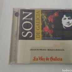 CDs de Música: CD AMANCIO PRADA/ROSAS A ROSALÍA/SON DE GALICIA. Lote 194296748