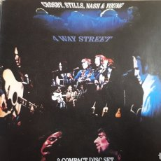 CDs de Música: CROSBY STILL NASH AND YOUNG 4 WAY STREET DOBLE CD. Lote 194300056