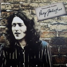 CDs de Música: RORY GALLAGHER CALLING CARD. Lote 194300453