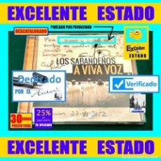 CDs de Música: LOS SABANDEÑOS - A VIVA VOZ - EXCELENTE ESTADO - FIRMADO Y DEDICADO POR ELFIDIO ALONSO - 30 EUROS. Lote 194301167