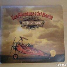 CDs de Música: BARON ROJO - LAS AVENTURAS DEL BARON 25 ANIVERSARIO (2CD + 1 DVD). Lote 194307176
