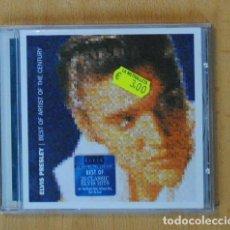 CDs de Música: ELVIS PRESLEY - BEST OF ARTIST OF THE CENTURY - CD. Lote 194315497