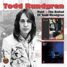 CDs de Música: TODD RUNDGREN - RUNT + RUNT. THE BALLAD OF TODD RUNDGREN (2XCD, ALBUM, COMP). Lote 194315725