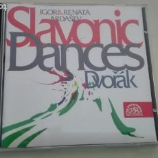 CDs de Música: ANTONIN DVORAK CD SLAVONIC DANCES SERIES I, OP. 46 Y SERIES II, OP. 72 RENATA E IGOR ARDASEV DDD. Lote 194321197