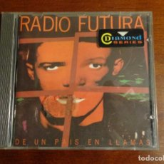 CDs de Música: RADIO FUTURA – DE UN PAÍS EN LLAMAS. Lote 194321718