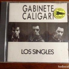 CDs de Música: GABINETE CALIGARI – LOS SINGLES - 1988 - RARO. Lote 194322276