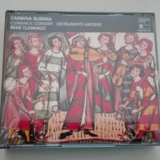 CDs de Música: RENÉ CLEMENCIC 3 CD CARMINA BURANA CLEMENCIC CONSORT INSTRUMENTOS ANTIGUOS HARMONIA MUNDI. Lote 194322548