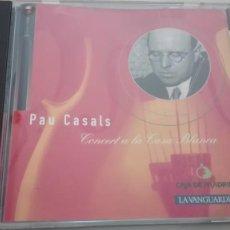 CDs de Música: PAU CASALS CD CONCERT A LA CASA BLANCA SONY CLASSICAL. Lote 194323463