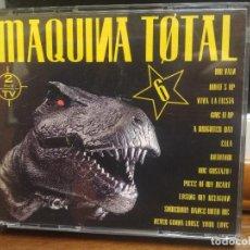 CDs de Música: MÁQUINA TOTAL 6 DOBLE CD MAX MUSIC . Lote 194330282