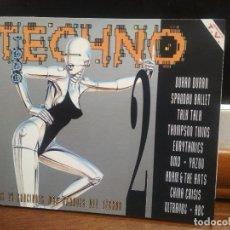 CDs de Música: TODO TECHNO 2. LAS 24 CANCIONES MÁS GRANDES DEL TECHNO - DOBLE CD. - SONY MUSIC ENTERTAINMENT, 1993. Lote 194330868