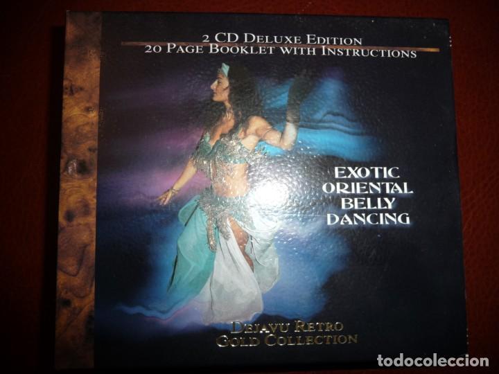 EXOTIC ORIENTAL BELLY DANCING - 2 CD DELUXE EDITION + LIBRETO DE 20 PÁGINAS CON INSTRUCCIONES (Música - CD's World Music)