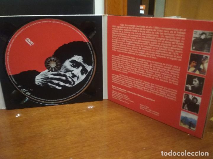 CDs de Música: Víctor Jara, El derecho de vivir en paz, Antología, triple, 2 CD + 1 DVD + libreto PEPETO - Foto 3 - 194331281