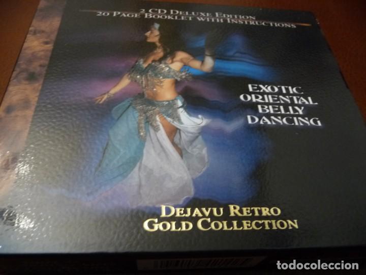 CDs de Música: EXOTIC ORIENTAL BELLY DANCING - 2 CD DELUXE EDITION + LIBRETO DE 20 PÁGINAS CON INSTRUCCIONES - Foto 5 - 194330920