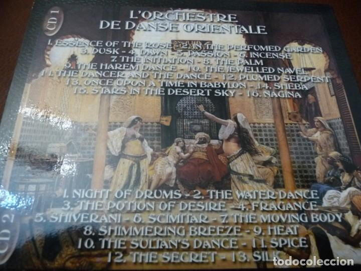 CDs de Música: EXOTIC ORIENTAL BELLY DANCING - 2 CD DELUXE EDITION + LIBRETO DE 20 PÁGINAS CON INSTRUCCIONES - Foto 2 - 194330920
