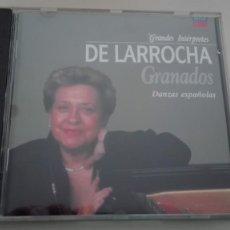 CDs de Música: ENRIQUE GRANADOS CD DANZAS ESPAÑOLAS ALICIA DE LARROCHA. Lote 194332182
